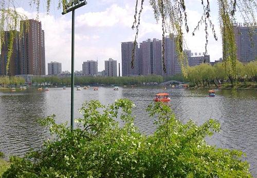 南运河带状公园