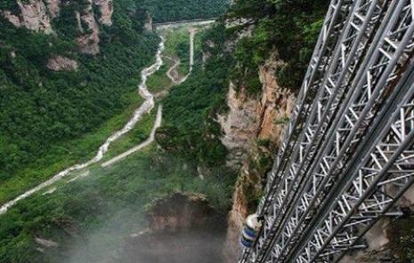 世界最高最快的电梯