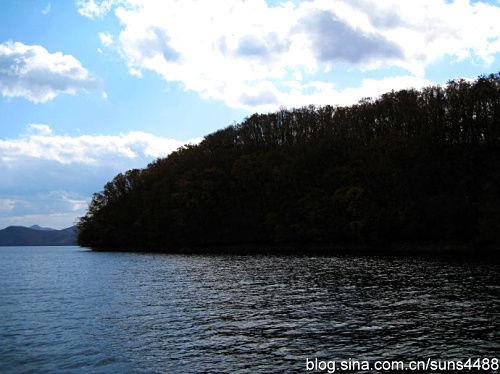 恒龙湖美景