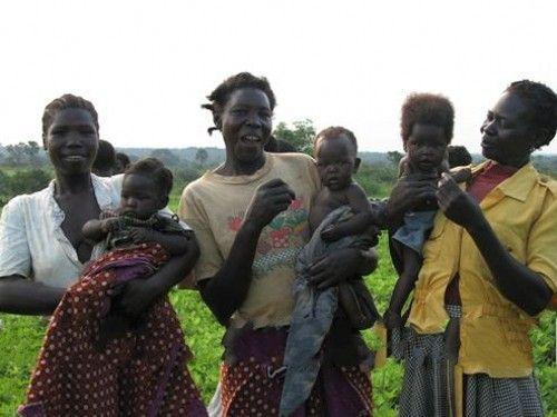 乌干达妇女们