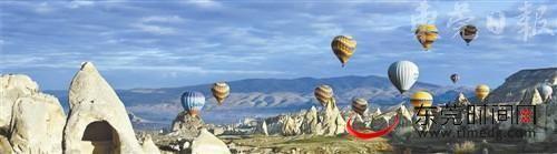土耳其的热气球