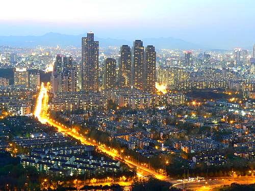 韩国 江南地区