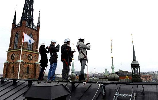瑞典推出屋顶旅行