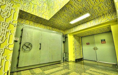 这个位于美国西弗吉尼亚州的二战时期的地下掩体,如今是一家四星级宾馆。
