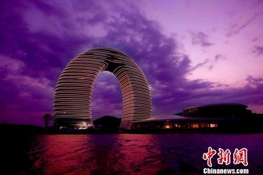 中国湖州喜来登温泉度假酒店。 新民 摄