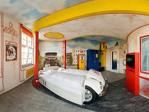 V8酒店的加油站套房,斯图加特,德国