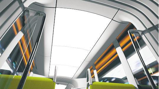 照明系统:整个中顶板均为灯带照明系统采用LED光源,节约能源,节省运营成本