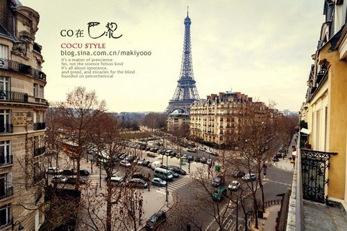巴黎的浪漫气息