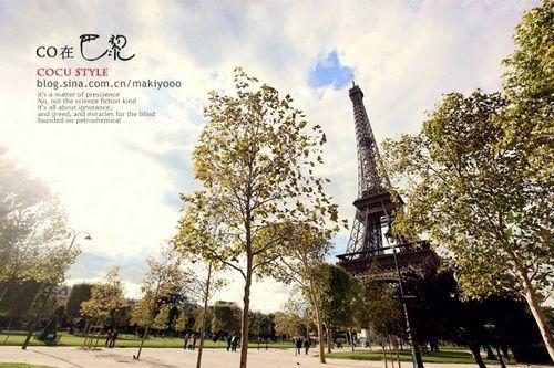 巴黎初冬的和煦阳光
