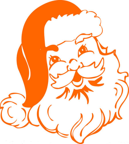 圣诞老人骑鹿简笔画_卡通圣诞老人简笔画