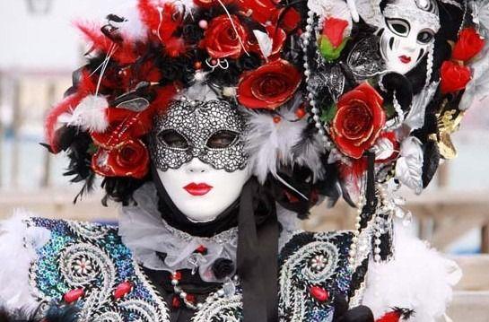 威尼斯面具节