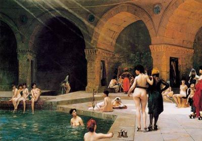古罗马的浴室