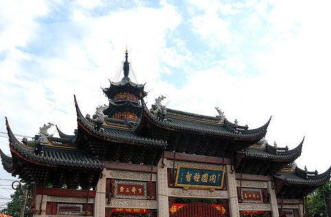 上海龙华寺 摄影:hxfeng