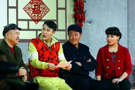 小品《同桌的你》中赵本山也曾带徒弟小沈阳亮相