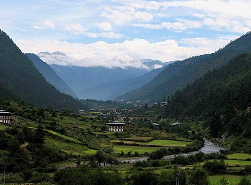 异域风情之不丹