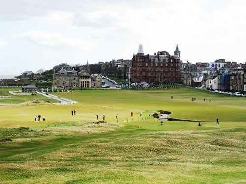 高尔夫:苏格兰 环海岸奇观