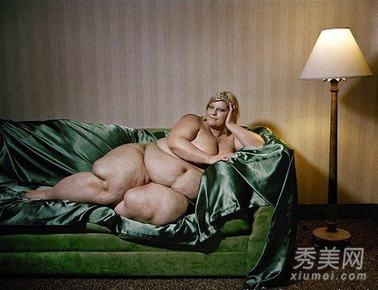 胖美人全裸写真