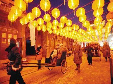 盛京灯会和关东庙会