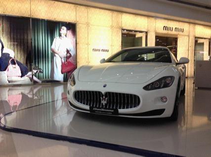 """玛莎拉蒂quattroporte总裁系列开创了""""高性能豪华轿车""""这一全新"""