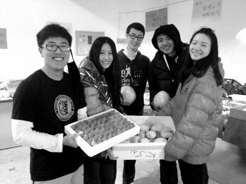 五名创业的大学生