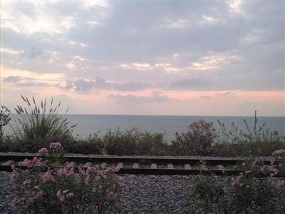 龙栖湾沿海铁路。王文军 摄
