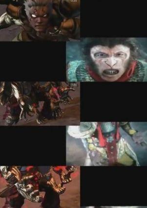 《阿修罗之怒》(左)与《西游降魔篇》分镜头对比