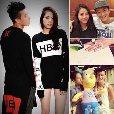 陈冠希与22岁小女友