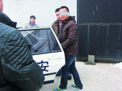 犯罪赚疑人杨某。 通讯员徐宏 摄