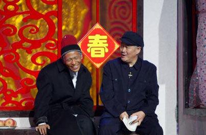 赵本山和徒弟们(资料图)
