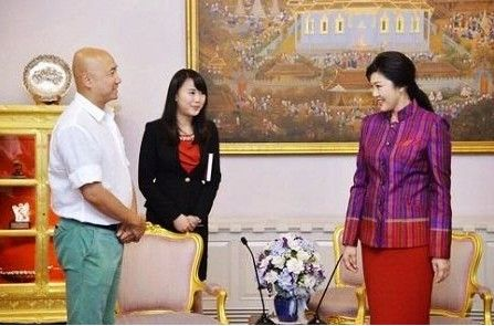徐峥受泰国总理接见