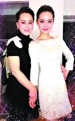 张楚楚和母亲宋佳