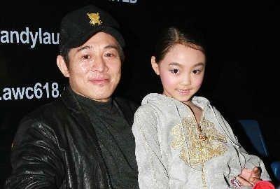 李连杰与女儿