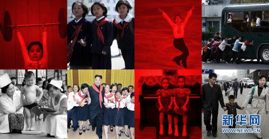 """""""儿童是国家之王"""",这是朝鲜已故国家主席金日成生前的名言"""