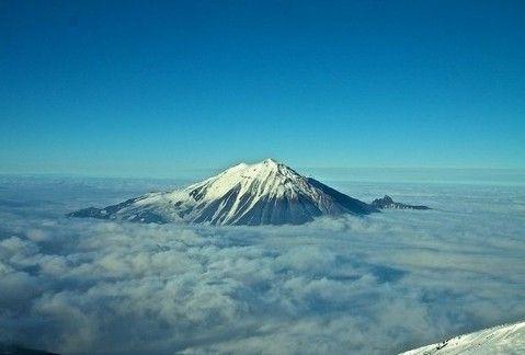 堪察加半岛活火山