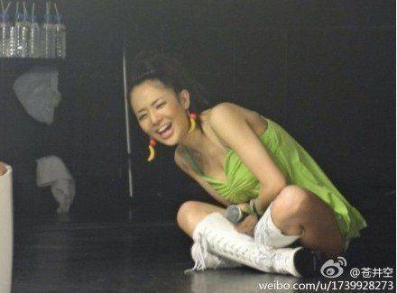 日本AV女优苍井空自曝是处女 笑言希望30岁前破处