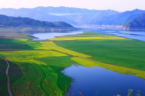 立春 绿江村