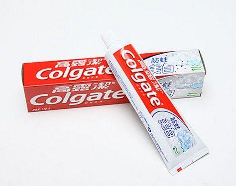 高露洁通过增大牙膏口径的原理_高露洁牙膏