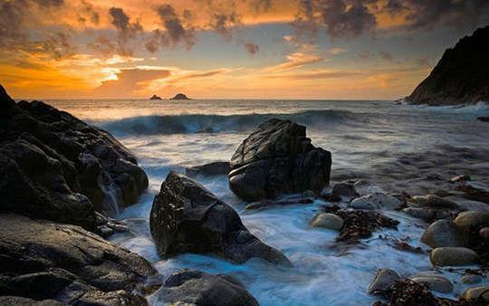 英国康沃尔海滩