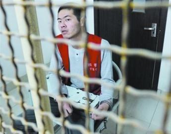 昨日记者在沈阳市和平区看守所内见到了犯罪嫌疑人李光(化名)。辽沈晚报、北国网记者 王迪 摄