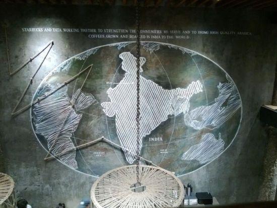 旗舰星巴克(印度新德里)