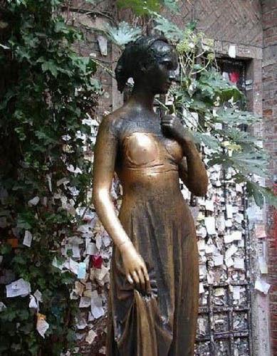 朱丽叶雕像