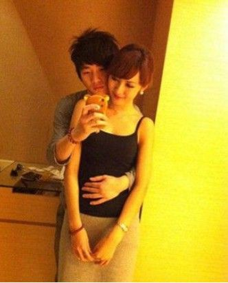 袁佳怡与男友(点击查看更多时尚资讯)