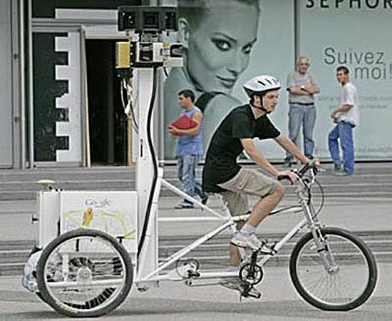 谷歌地图单车摄影师