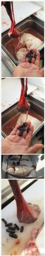 @恋家的海茄子 收拾鱼时发现的铅块。