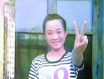 失踪的朱阳阳。 视频截图