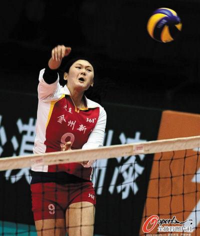 王一梅是辽宁女排的核心球员。OSPORTS供图