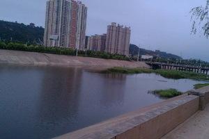 6月9日早,三门峡市剑河 ,是不是很像大连的马栏河?