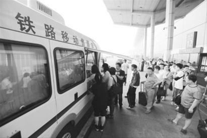 大连机场适时与火车站沟通