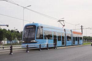 昨日浑南有轨电车正式首发