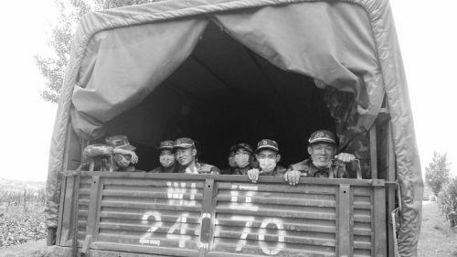 暴雨成灾,武警辽宁省总队抚顺支队是第一支驰援灾区的部队,已连续奋战5天5夜。